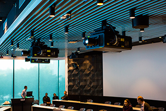 QUT-Laser-Projector-The-Forum