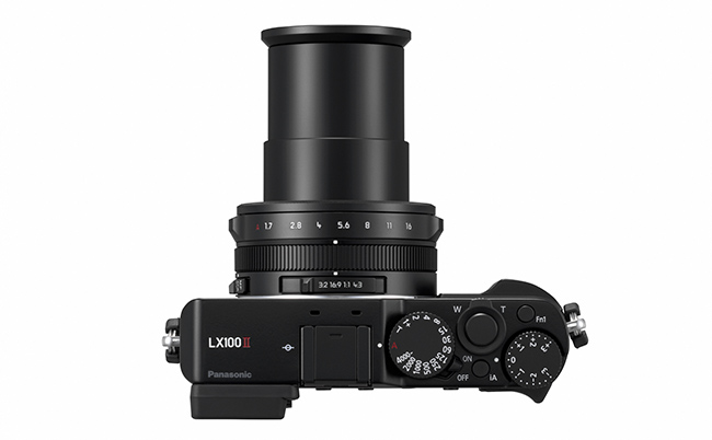 Panasonic releases LUMIX LX100 II with new 17-megapixel multi-aspect 4/3-inch sensor